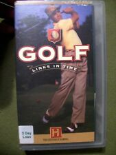 The History Channel ~ Golf: Links in Time (1999, VHS)