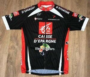 Caisse D'epargne Illes Balears Nalini Uci cycling jersey size 6 (XXL)