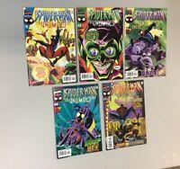 Spider-Man Unlimited 1-5 Complete Set Animated Fox Kids Marvel Comics 1999