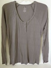 NEW VOLCOM LIVED IN HENLEY L/S TOP TEE T SHIRT  GREY SMALL code L86