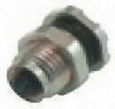 Binder 09-3112-81-04 707 4 Pole Panel Mount Miniature Connector Socket