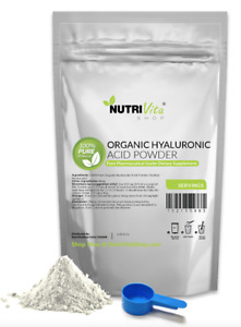 100% PURE HYALURONIC ACID POWDER (SODIUM HYALURONATE) USP ANTI-AGING JOIINT NEW