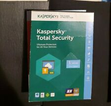 Kaspersky Total Security Ultimate Protection **New In Box**