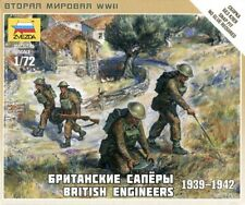 6219 ingenieros británicos 1939-1942 - llamas Zvezda 1/72 - Segunda Guerra Mundial