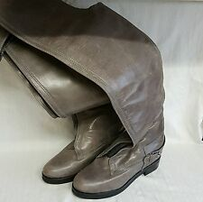 All Saints Over knee high leather boots Size 40 UK 7