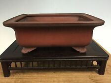 Classic Shape Bigei Shohin Size Bonsai Tree Unglazed Pot. 5 3/4""