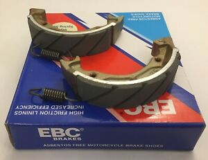 EBC REAR Grooved Brake Shoes (S613G) (1 Pair) fits SUZUKI LT50 (1986 to 2002)