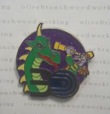 WDW 2012 Disney Epcot 30th Anniversary FIGMENT - WORLD OF MOTION Mystery Set Pin