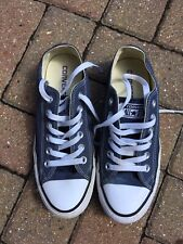 Converse Navy Blue Canvas Trainers Size 5