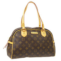 LOUIS VUITTON MONTORGUEIL PM SHOULDER BAG PURSE MONOGRAM M95565 SP0039 WA00866