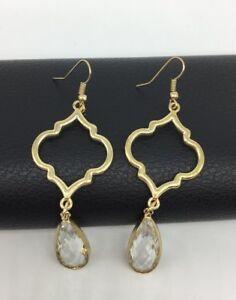 Fashion Crystal Mini Glass Crystal Drop Earring woman jewelry gift