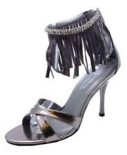 Sandalias y chanclas de mujer sin marca color principal plata de sintético