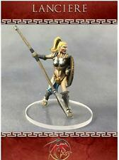 Sygill Forge Female Warrior With Lance