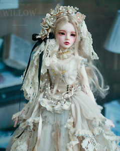 *legit* SOUL DOLL Willow-Shabby dress 1/4 girl bjd ball jointed outfit Limited