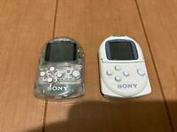 Sony PocketStation PlayStation PS Crystal & White SCPH-4000 Japan P72