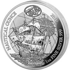 RWANDA 50 Francs 2019 1oz. Silver 'Nautical - Victoria Ship' NGC PF70