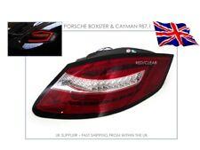 PORSCHE BOXSTER & CAYMAN 987 GEN 1 LED REAR TAIL LIGHTS - SEQUENTIAL - UK - RHD