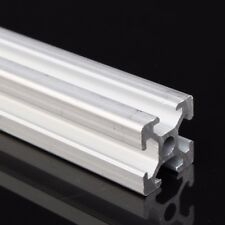 2020T-slot Aluminum Alloy Profiles Extrusion Frame 50cm Length 3D Printer Silver