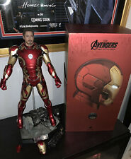 Hot Toys Avengers Iron Man Age of Ultron Mark 43 XLIII 1/4th Scale Read Details