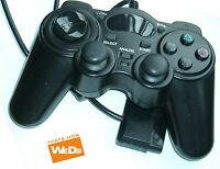 PS2 DUAL SHOCK CONTROLLER WIRED BLACK