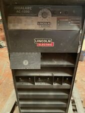 Lincoln Arc Welder Idealarc Dc 1200 Sub Arc Welding Variable Volt Power Source