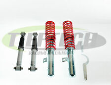KIT SUSPENSION REGLABLE FILETÉ COMBINES AMORTISSEUR PEUGEOT 206