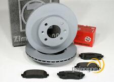 Hyundai Accent 4IV - zimmermann Discos de Freno Pastillas para Delante