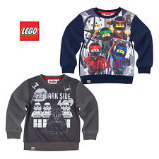 LEGO Ninjago Star Wars Pullover Fleece Sweatshirt Jungen Gr. 104 110 116 128 140