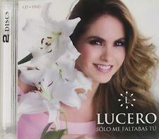 Lucero, Sólo Me Faltabas Tú CD + DVD New, Sealed
