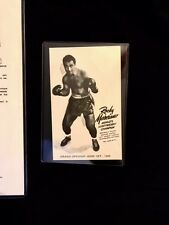 Certified JSA Rocky Marciano Autographed photo in pristine condition