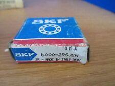 SKF 6000-2RSJEM SINGLE ROW BALL BEARING~New in Box