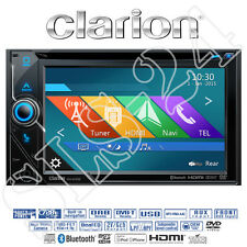 "Clarion nx405e Navigation Multimedia System 2-din Autoradio Bluetooth 6"" iPhone"