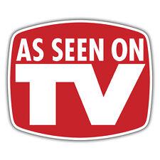 as seen on tv sticker 99 x 83mm youtube