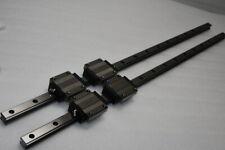 Thk Linear Bearing Lm Guide Hsr25a 939mm 2rails 4blocks Nsk Iko