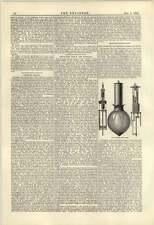 1884 Charles Manby Pilsen Arc Lamp Lighting Bethnal Green Museum