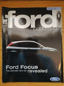THE FORD Magazine Autumn 1998 - New Focus. Jeremy Clarkson's Ford GT40