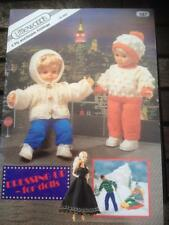 Dressing Up for Dolls - Clothes Knitting Patterns Sindy Action Man Baby Dolls