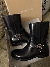 Michael Kors MK Womens Size 10 Fulton Harness Rainbootie