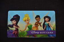 2015 Fairies Tinker Bell Silvermist Disney Gift Card Walt Disney World No Value