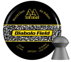 Air Arms Diabolo Field .22 / 5.52mm Diablo Domed Target Airgun Hunting Pellets