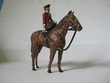 Britain Queen Elizabeth riding side saddle.