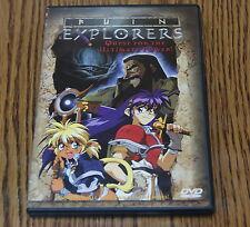 Ruin Explorers (DVD, 2000) Takeshi Mori Anime Action ADV Films R1 DVD Like New