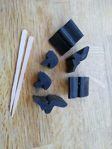 Vauxhall Viva HB and HC bonnet and boot rubbers, buffers complete kit