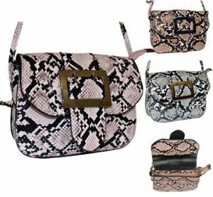 Snake Print Handbag For Ebay