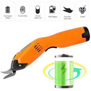 Great Working Tools Cordless Power Electric Scissors for Crafting Cardboard Hot