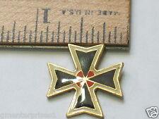 Iron Cross Motorcycle Pin (#409)