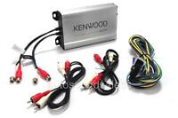 Kenwood KAC-M1804 400 Watts 4-Channel Class D Digital Car Audio Amplifier New