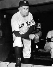 1954 New York Yankees CASEY STENGEL Glossy 8x10 Photo Baseball Print Poster