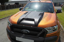 Ford Ranger T7 Bonnet Scoop Styling Accessories 2016 On Matte Black