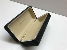 Bulgari Original Sunglasses Eyewear Black clamshell hard Case w Outer box